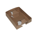 Kraft Cup & Food Carry Out Tray