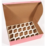 Cupcake Inserts - 24 Cupcakes for Bakery Boxes