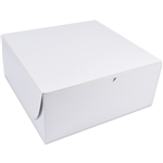 "14"" x 14"" x 6"" Large White Bakery Cake Boxes"