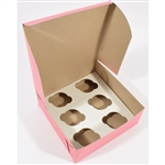 Cupcake Inserts - 6 Cupcakes for Bakery Boxes
