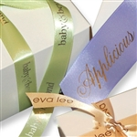 Custom Hot Stamped Ribbon-Single Face Satin