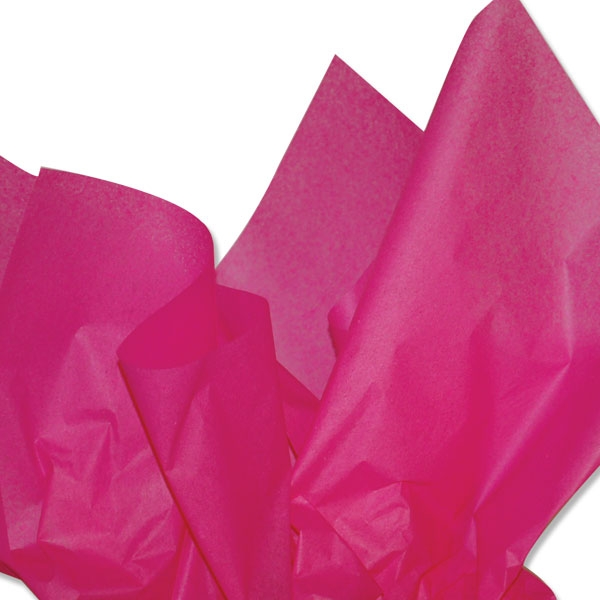 hot pink tissue paper Hot pink tissue paper honeycomb ball available in 3 sizes: 12, 20 or 30cm in diameter perfect party and table decorations for any occasion, baby showers, weddings or just used as a room decoration.