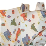 Noel  Christmas Patterned Tissue Paper - 240 Sheets/Ream