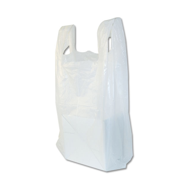 T shirt plastic bags s1 8 3 4 x 6 x 18 52 mil for Plastic bags for t shirts