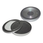 Tin Boxes - Round CD tins with Window