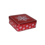 Presents Please Short Square Tin