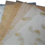 Waxed Tissue Paper Food Sheets - Custom Printed