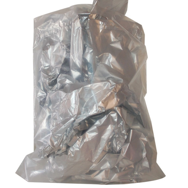 Plastic Bags - Die Cut Handle - Frosted Clear - 21 x 24 x 5